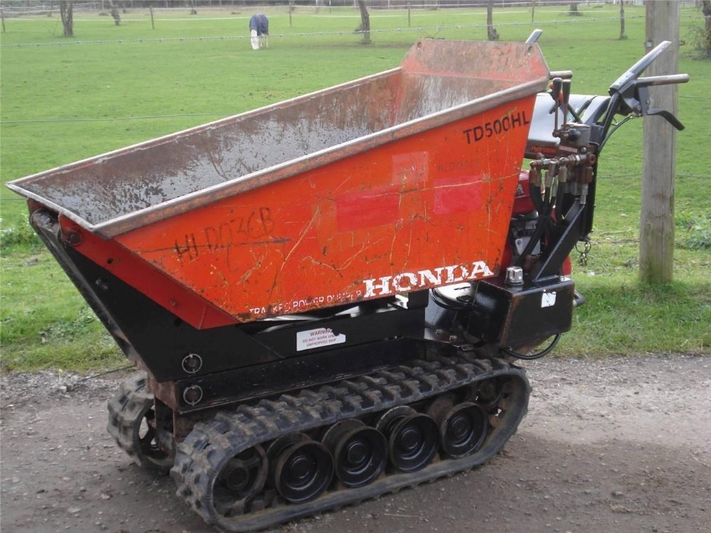 Honda TD500HL Power Barrow