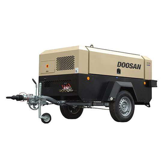 Doosan Portable Air Compressor 7/71